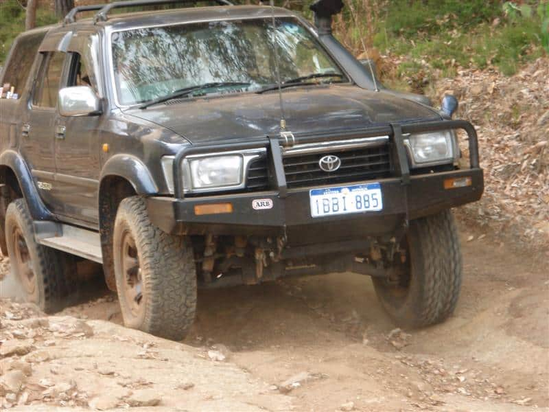 Hilux Surf Independent Suspension