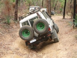 Troopy Rear Bar 300x225 Buying a Rear Bar for your 4WD