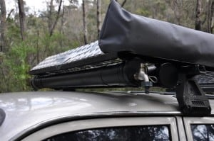 PVC Water tank on roof racks
