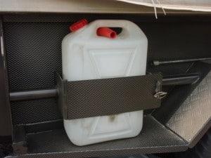 Camper Trailer water storage