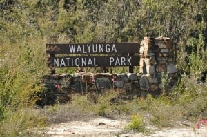 Walyunga National Park entry
