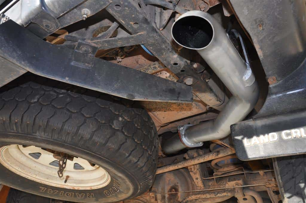 The new Beaudesert exhaust
