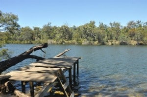 A small jetty we found on the Blackwood River 300x199 Alexandra Bridge