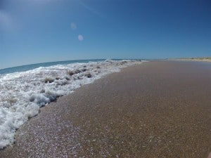 Preston Beach water