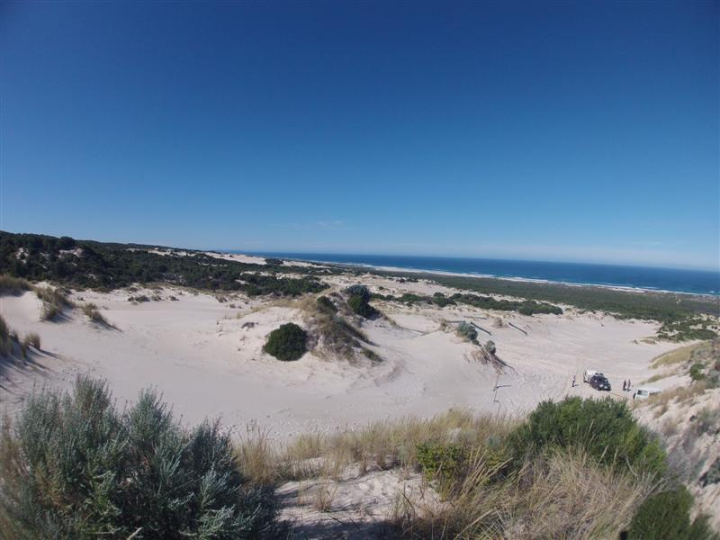 Enjoying the dunes at Yeagarup