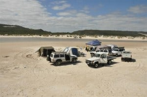 Camping at Yeagarup is a great way to extend your stay