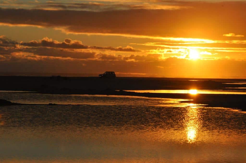 Yeagarup has some stunning sun sets