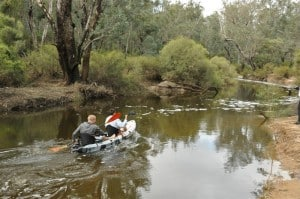 Kayaking in Dwellingup
