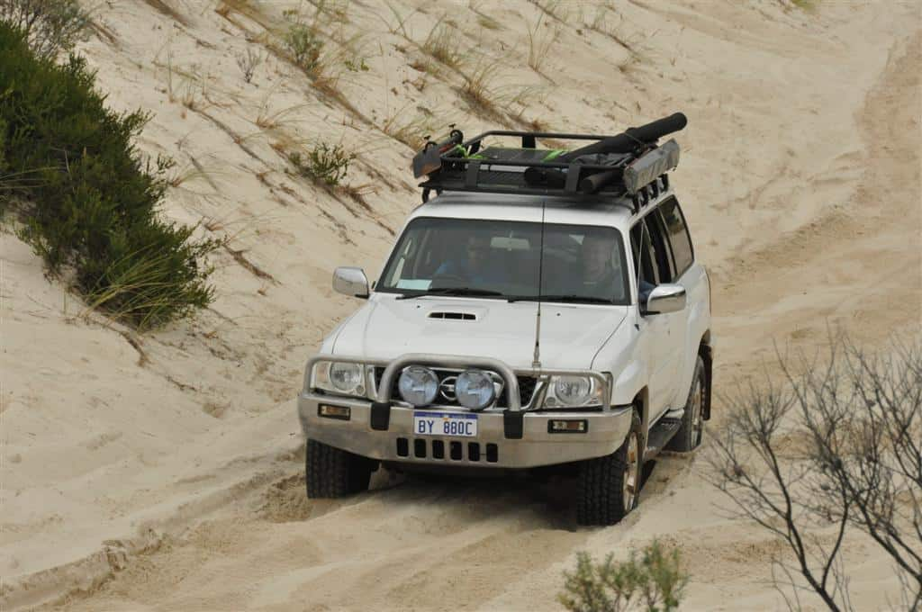 Landcruiser vs Patrol