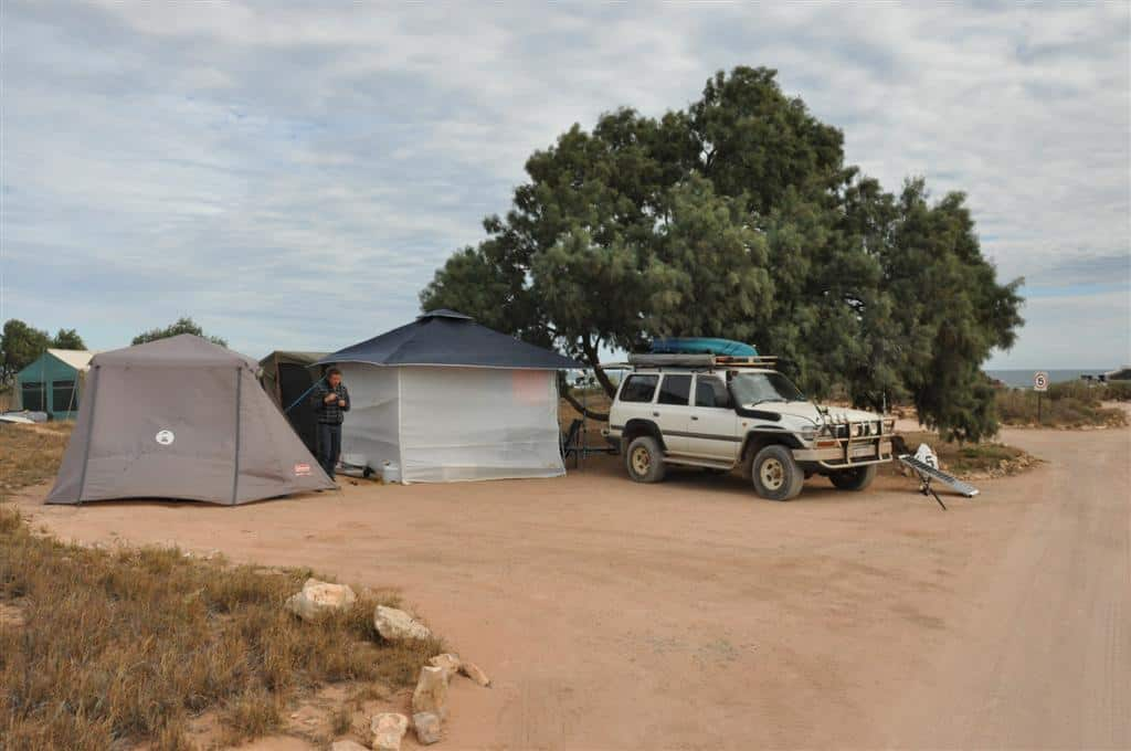 Camping at Gnaraloo