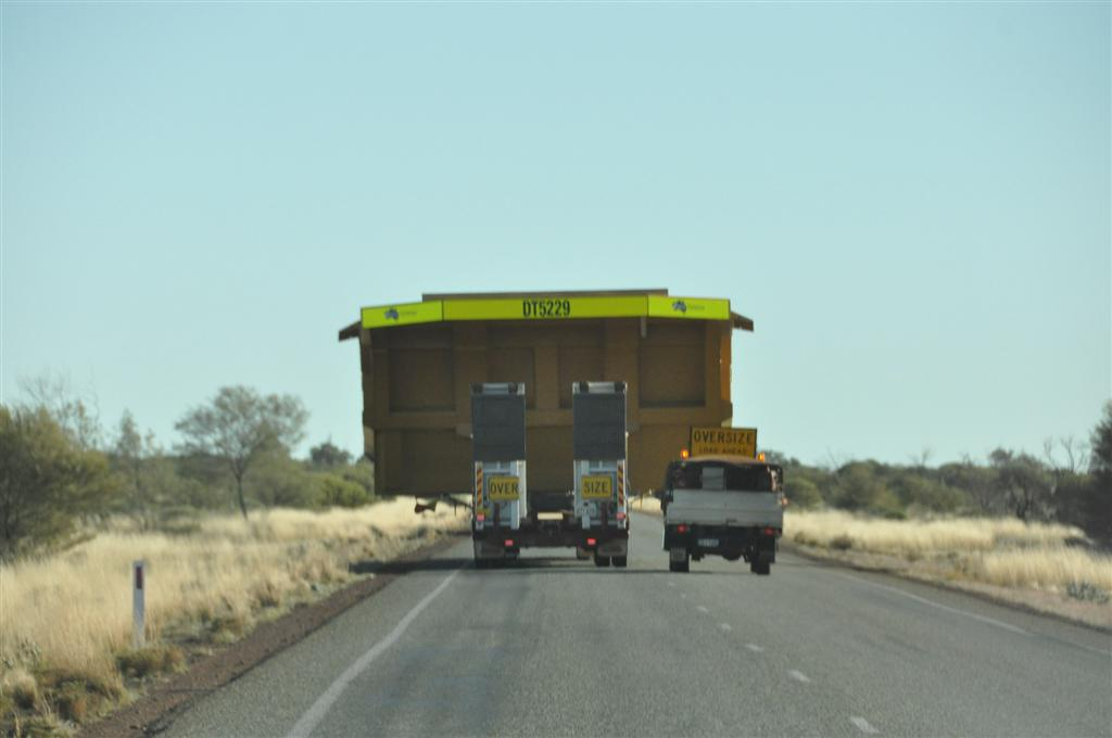 Oversize loads are common up north