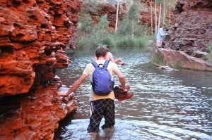 Hiking in Karijini