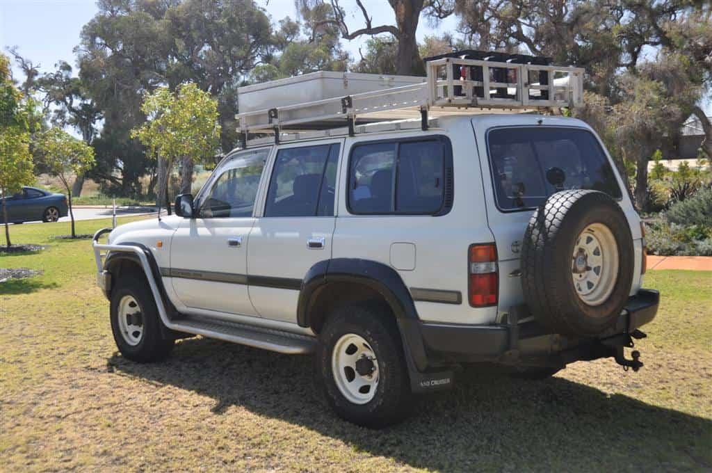 Land Cruiser Aluminium Roof Rack