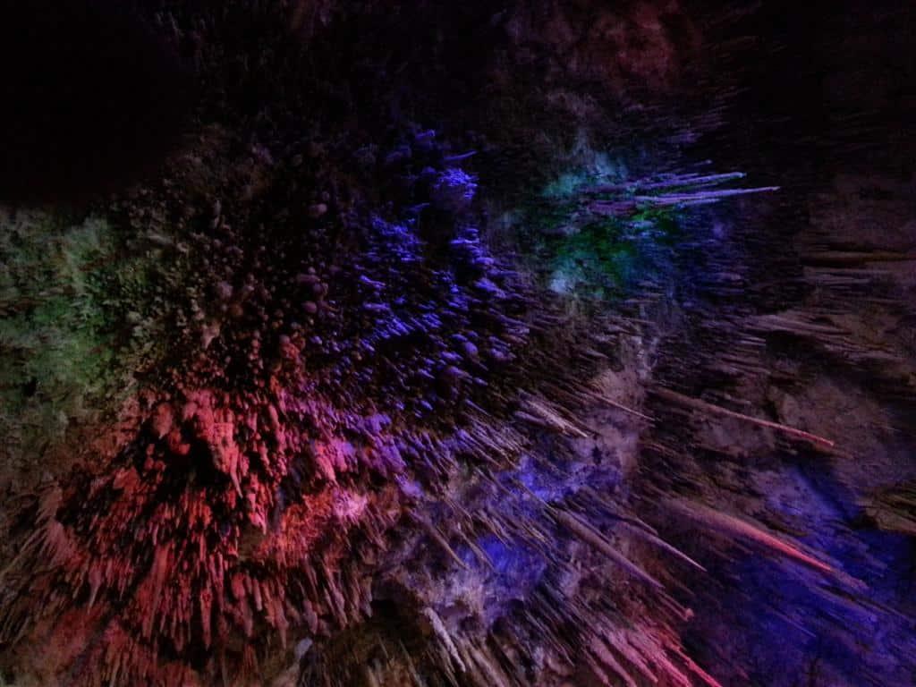 Enjoying Ngilgi Cave