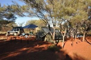Camping at Dales