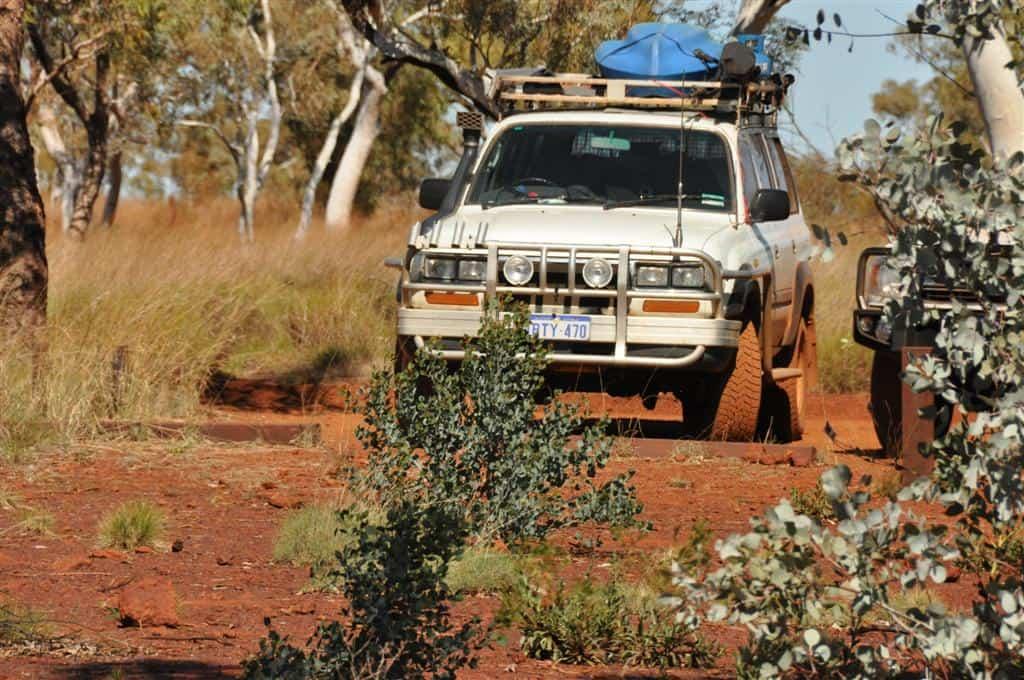 4WD at Karijini