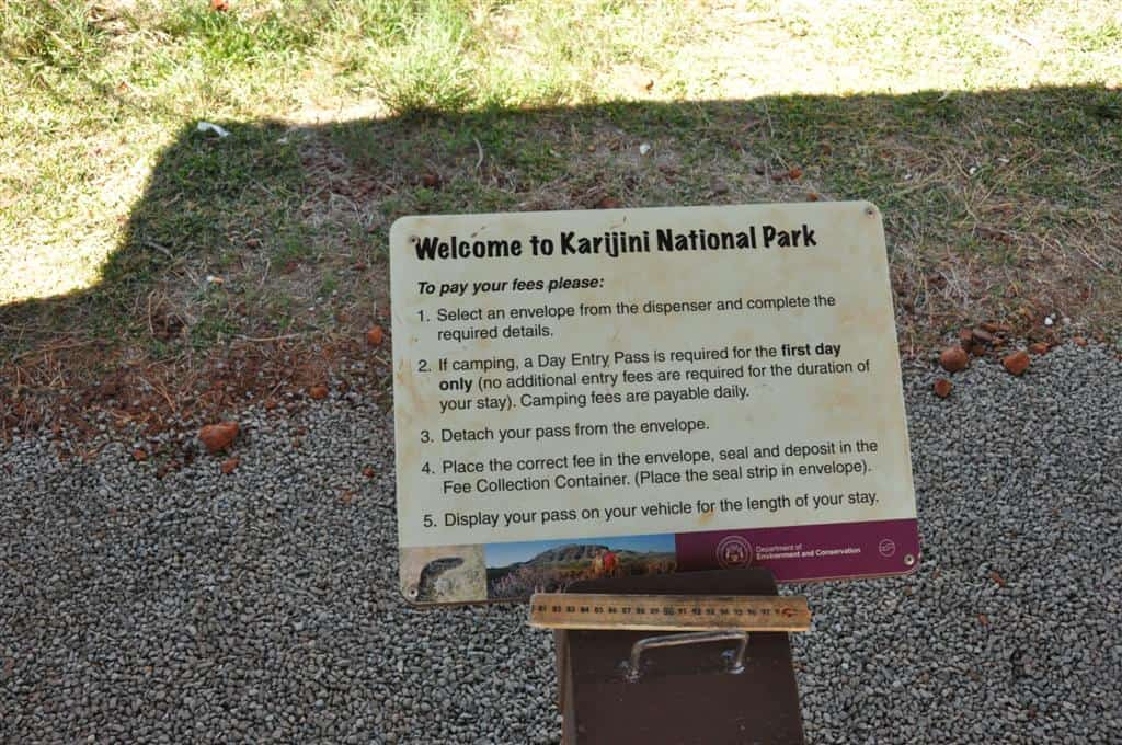 Fees at Karijini