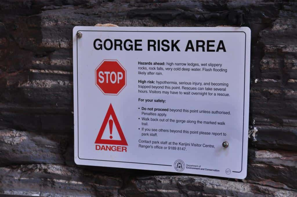 Karijini Safety