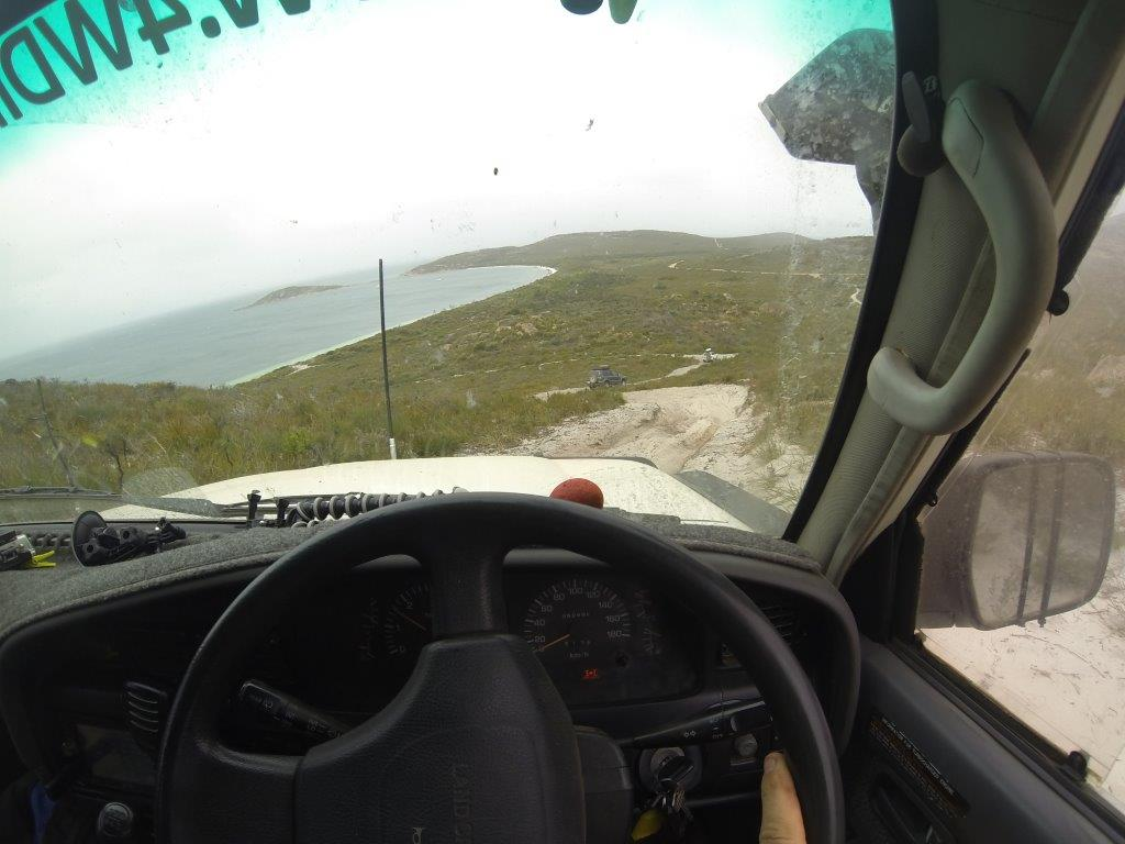 Orleans Bay 4WD tracks