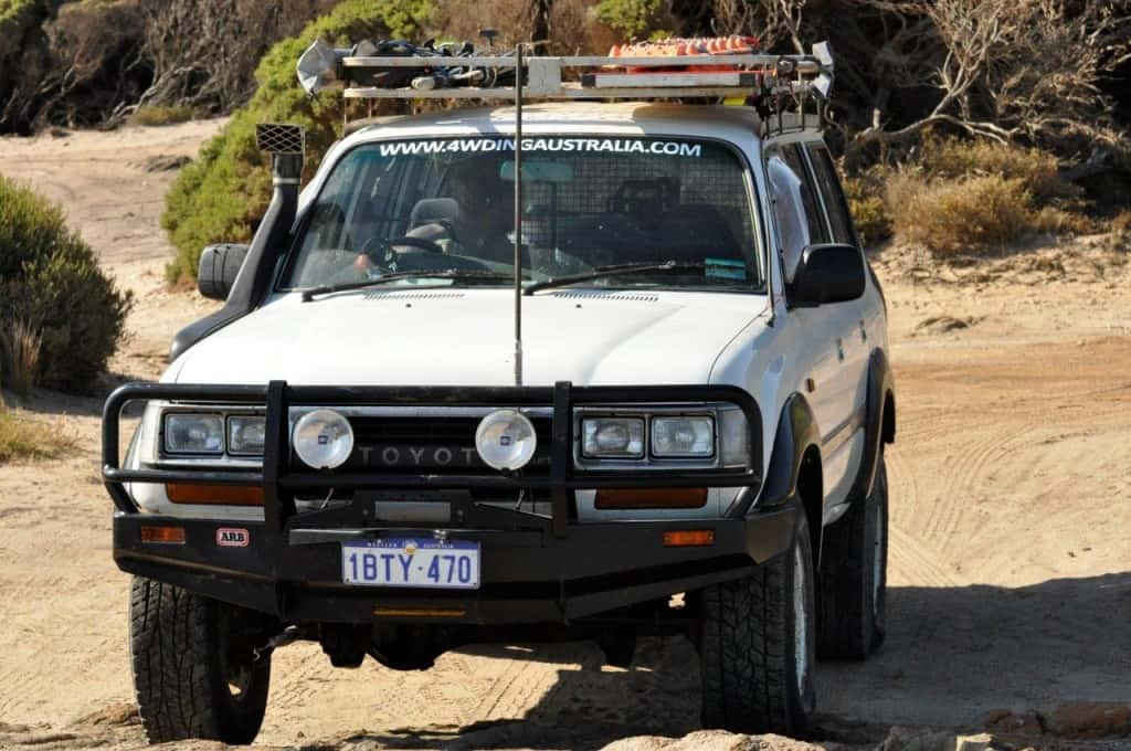 Bremer Bay four wheel driving