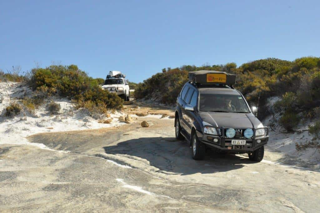 Cape Arid 4WD tracks