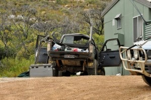 Rolled Hilux in Esperance