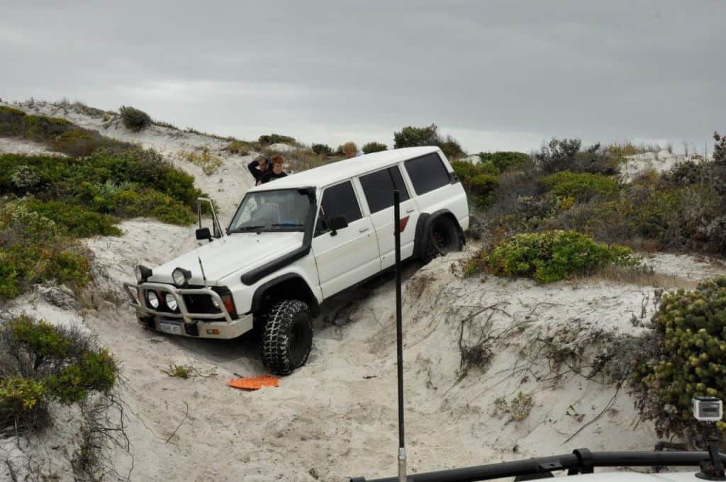Albany bogged 4wd