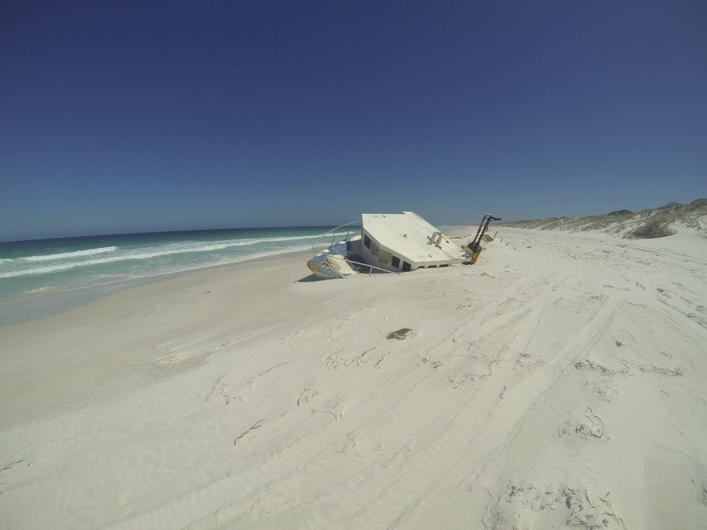 Boat at Israelite Bay