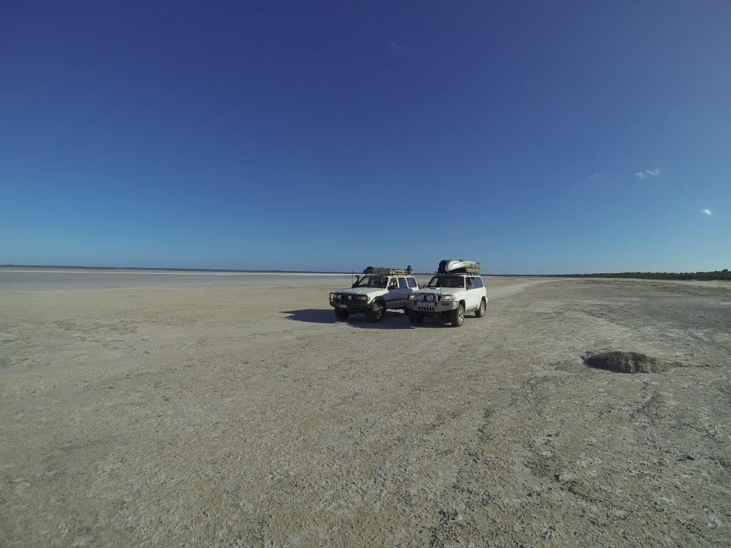 Salt lake Esperance
