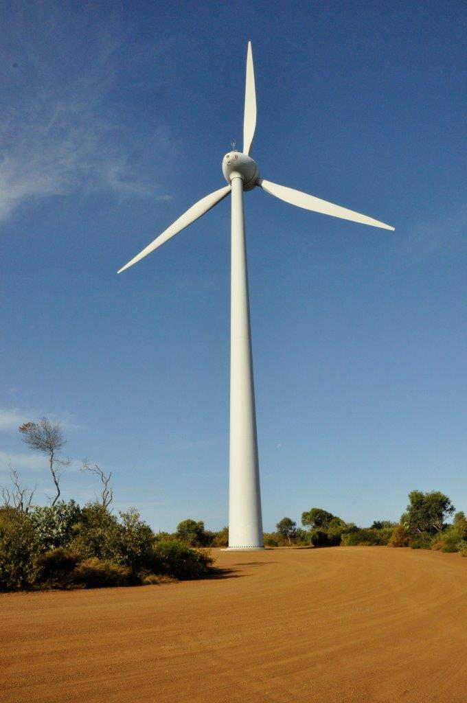 Wind turbine at Bremer Bay