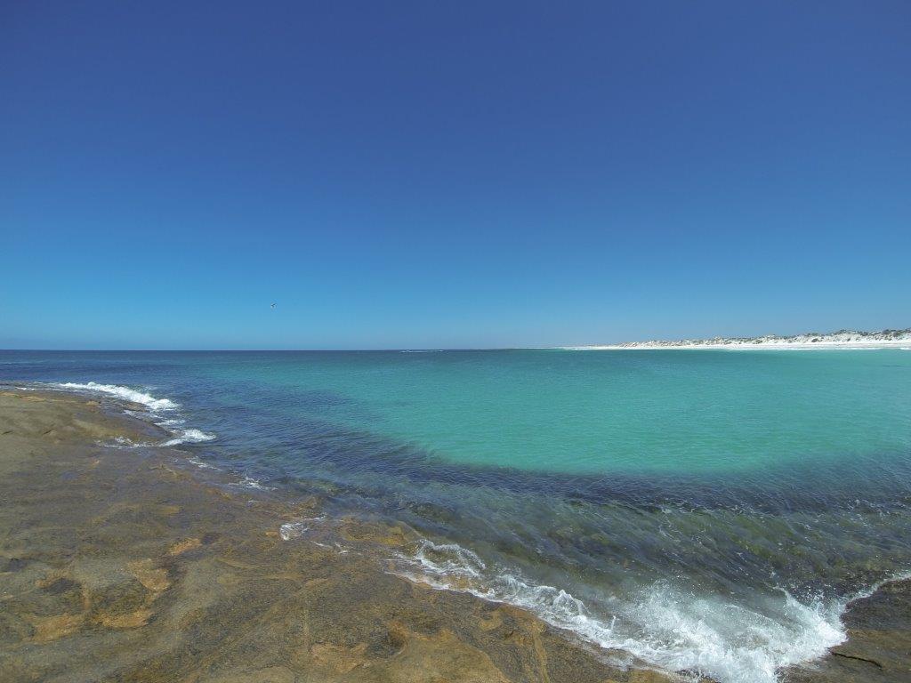 Israelite Bay off the rocks