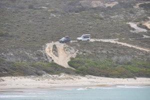 4WD access at Esperance