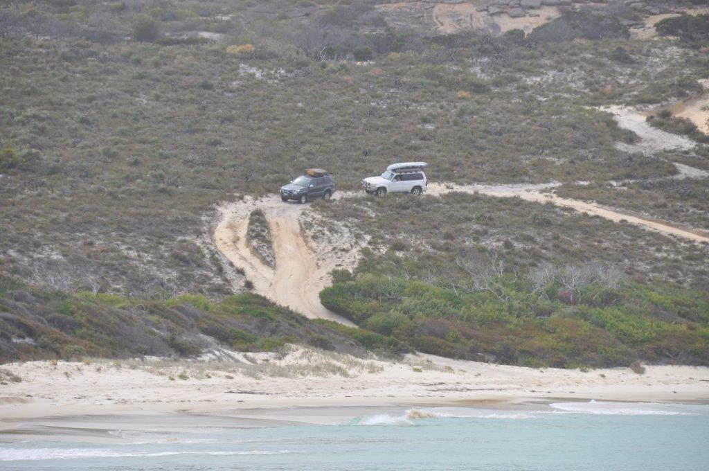 4WD access at Esperance