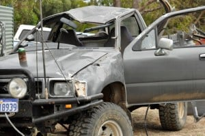 Rolled Hilux