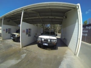 80 Series car wash