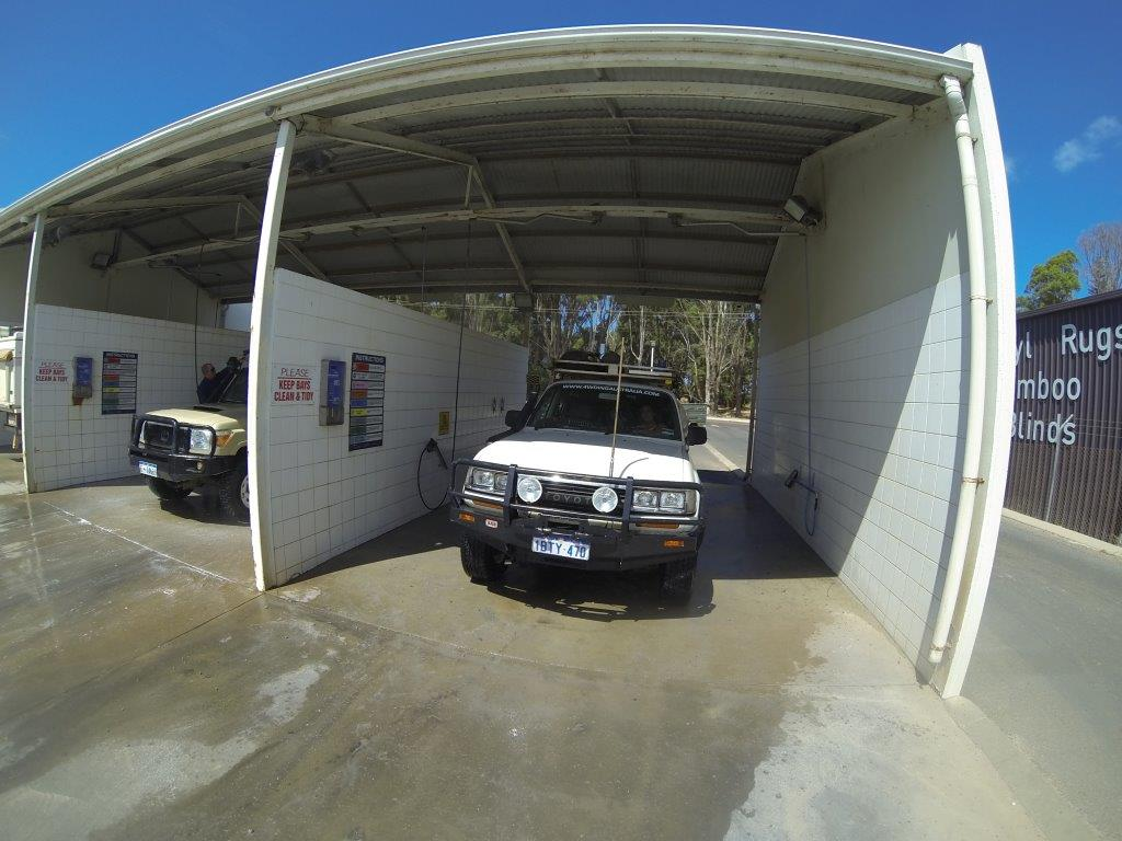 80 Series car wash
