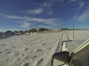 Beach driving Esperance