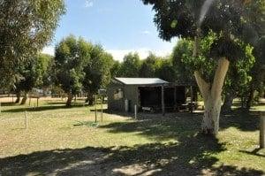 Camp kitchen near Esperance