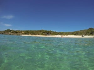 Swimming at little boat harbour