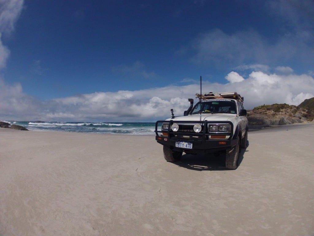 Beach driving Denmark
