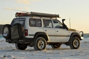 Kaymar Rear Bar Land Cruiser