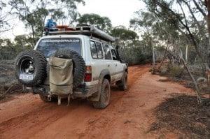 Suspension in a 4WD