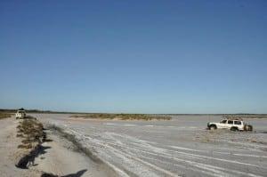Salt lake bogging