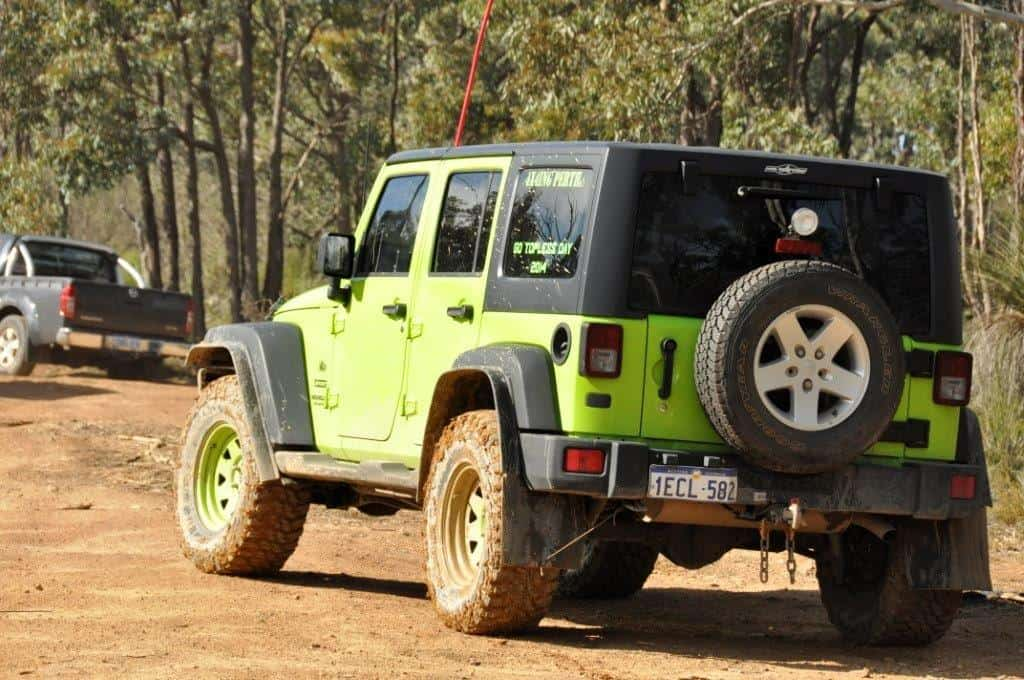 A great coloured Jeep