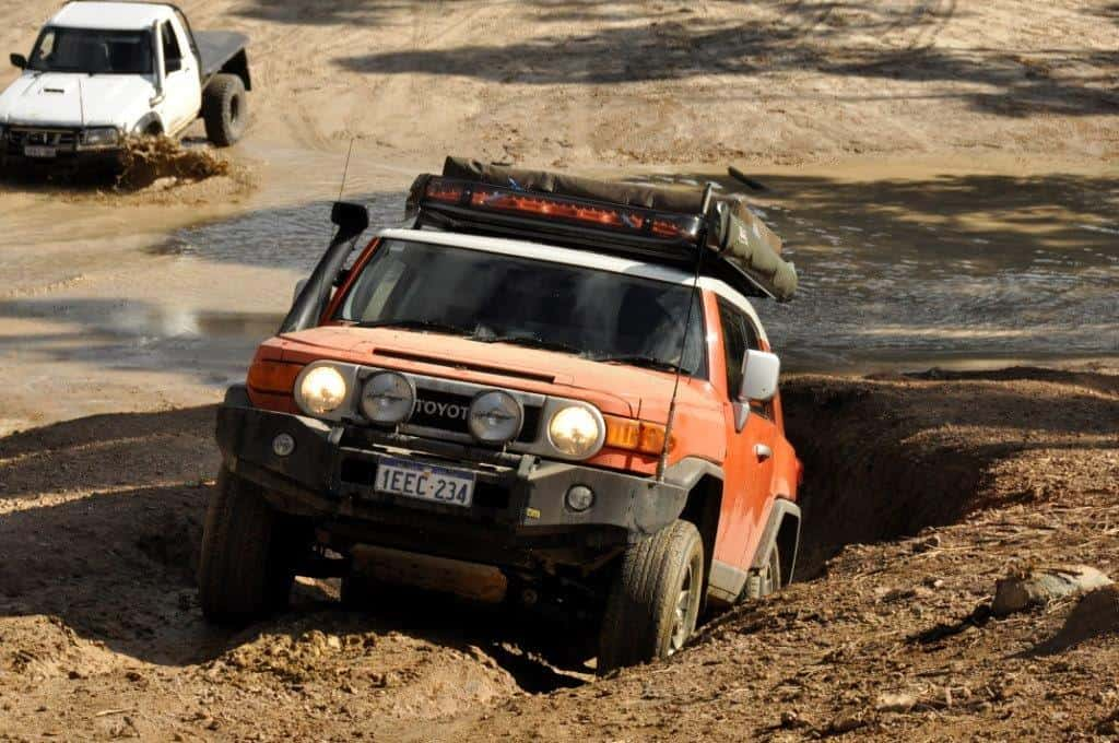 A tidy FJ Cruiser