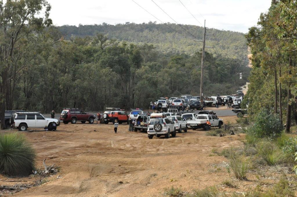 Air down and Perth 4x4 fundraiser