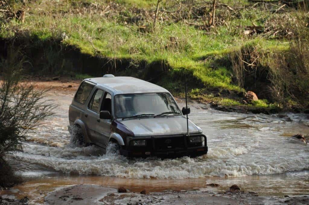 4WD wading depth