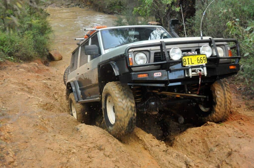Fun in the mud at Brunswick