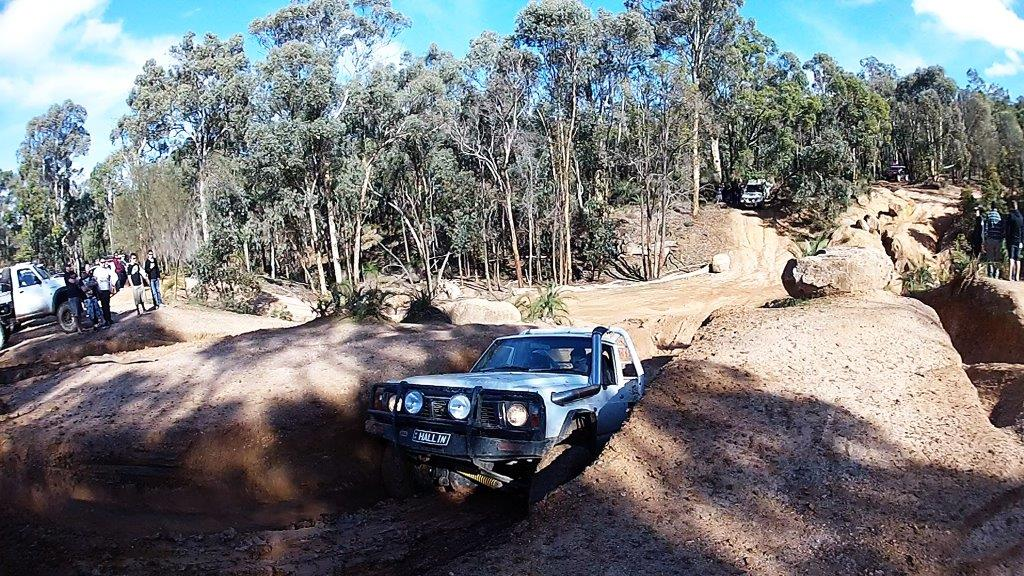 GQ ute at Mundaring