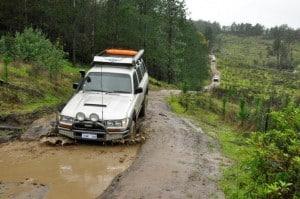 Harvey dam 4WD Tracks